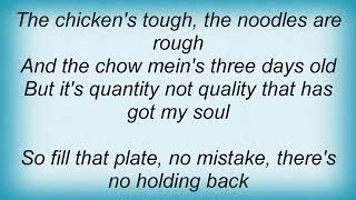 Arrogant Worms - Wong's Chinese Buffet Lyrics