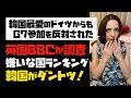 【悲報】BBCが調査「嫌いな国ランキング」韓国がダントツ!韓国最愛のドイツからG7参加を反対された。