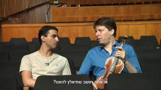 Behind the Scenes with Joshua Bell