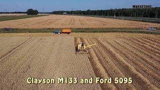 Clayson M133 en Ford 5095