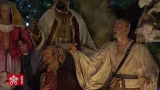 教宗:愿圣诞马槽的美好传统永不衰退
