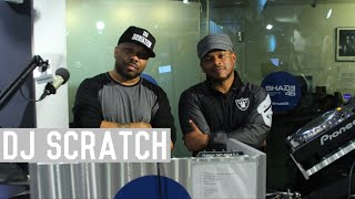DJ Scratch Mixes Live On Sway In The Morning and Talks Scratch Vision