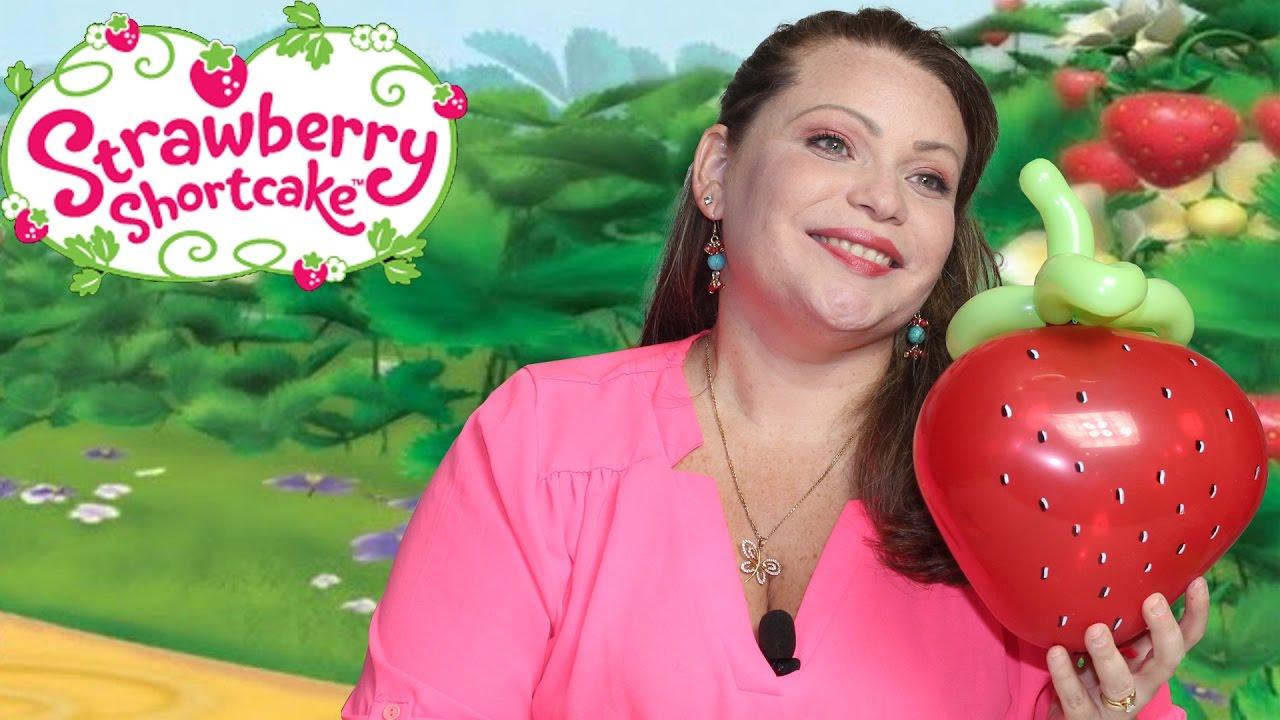 Fresa Fresita en globos. Balloons Strawberry