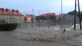 preview picture of video 'Powódź Wojcieszów 2012.07.05'