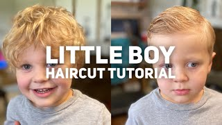 Little Boy Haircut Tutorial