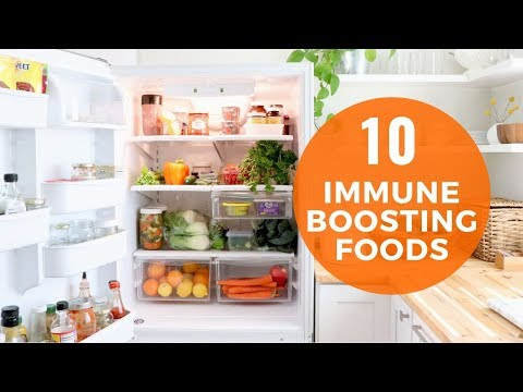10 Foods To Eat To Boost Immune Health | Healthy Lifestyle Tips with Healthy Grocery Girl