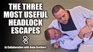 The Three Most Useful Headlock Escapes On The Ground | Jiu Jitsu Escapes