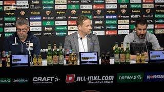 28. Spieltag | SGD - FCU | Pressekonferenz nach dem Spiel