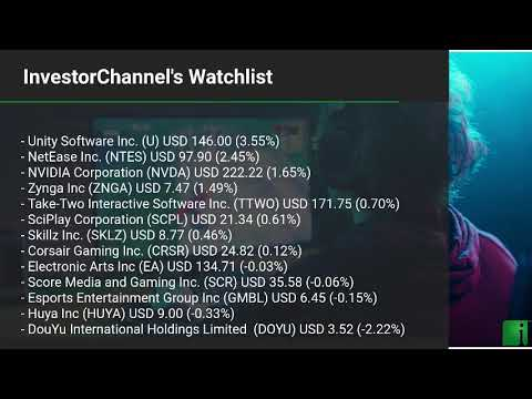 InvestorChannel's Esports Watchlist Update for Monday, Oct ... Thumbnail
