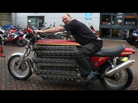 Самые безумные мотоциклы в мире