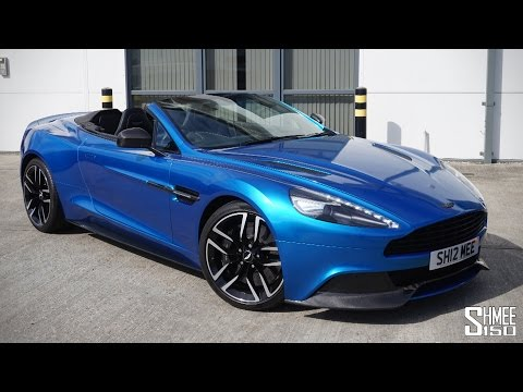 COLLECTING MY ASTON MARTIN VANQUISH VOLANTE - A Perfect Grand Tourer