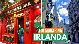 MELHORES momentos do meu INTERCÂMBIO em DUBLIN