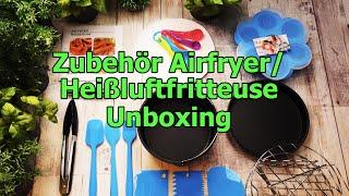 Heißluftfritteuse / Airfryer Zubehör Unboxing von KochMalSchnell