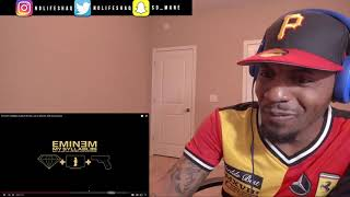 Eminem Syllables - ft Dr Dre, Jay Z, 50 Cent, Stat Quo, Cashis | REACTION