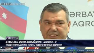 Aqrobiznes forum- Azərbaycan Tacikistan
