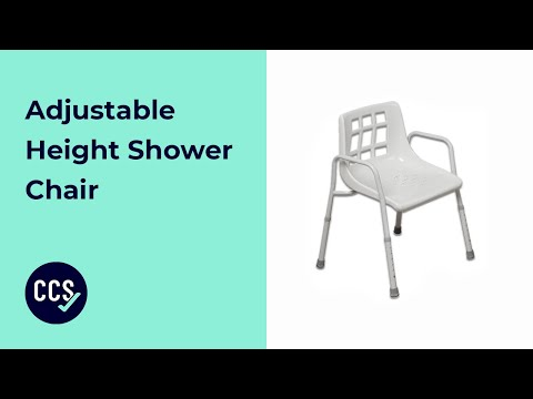 Adjustable Height Shower Chair Assembly Guide