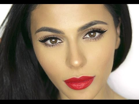 How To: Winged Eyeliner For Deep Set Eyes | Eye Makeup Tutorial | Teni Panosian
