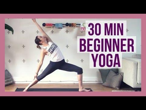 30 min Beginner Yoga - Full Body Yoga for Strength and Flexibility ...