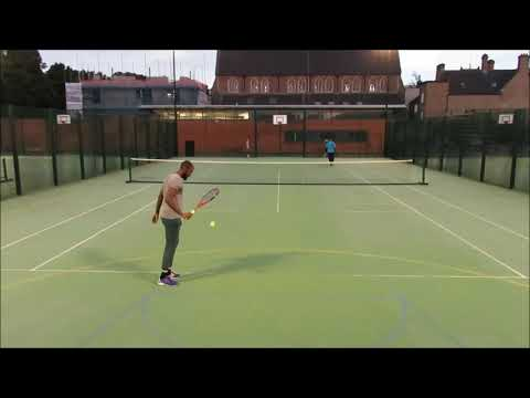 Telly Tubby Tennis Highlight 21June2019 Ajani v Michael