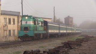 Вагоны дизель-поезда ДР1А на металлолом 2 / DR1A DMU cars to scrap metal 2