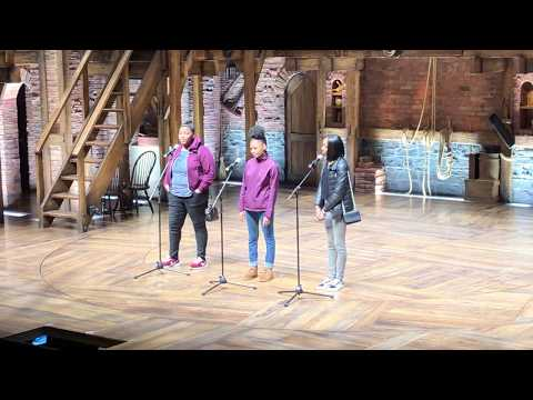 Chicago Students Perform During 2019 Hamilton Education Program