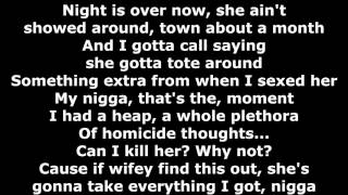 Tech N9ne - Should I Killer - Lyrics