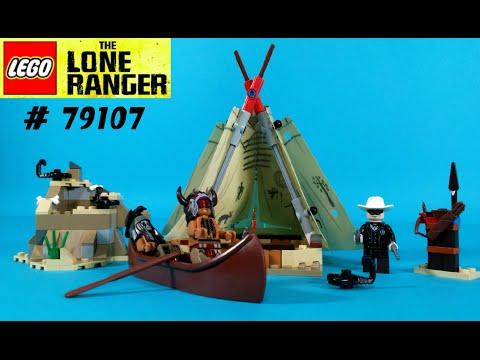Vidéo LEGO The Lone Ranger 79107 : Le camp comanche