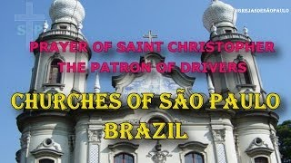 Prayer of Saint Christopher - The patron of drivers