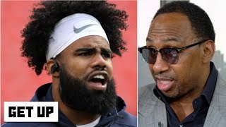 Stephen A. crashes a heated Ezekiel Elliott debate | Get Up