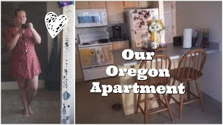 Oregon 2-Bedroom Apartment Tour || Our new home!