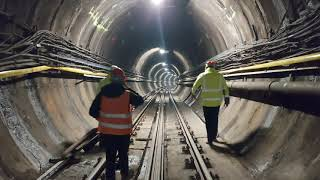 M3 metrófelújítás - Középső szakasz (2021.02.18-26.)