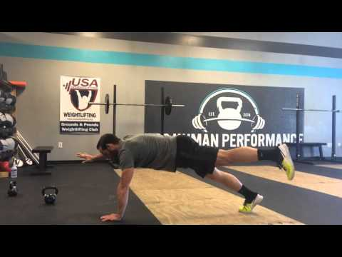Bird Dog (Push-Up Position Variation) | GPS Human Performance