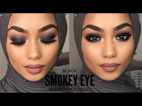 BLACK SMOKEY EYE | MAKEUP TUTORIAL