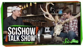 SciShow Talk Show: Animal Weapons with Doug Emlen & A Southern Three-Banded Armadillo