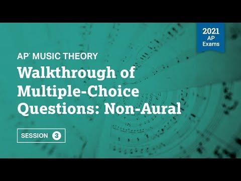 Walkthrough of Multiple-Choice Questions: Non-Aural | Live Review ...
