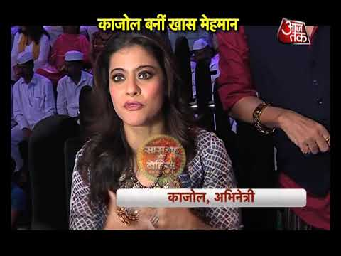 Kajol On The Sets Of Dil Hai Hindustani
