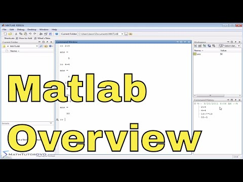 Matlab Online Course - 02 - The User Interface - Part 2