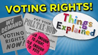 The History of U.S. Voting Rights   Things Explained