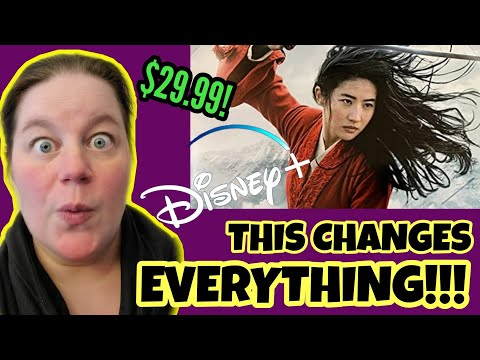 Mulan Going To Disney+ – With A Twist! How Disney Is Changing Movies Forever!
