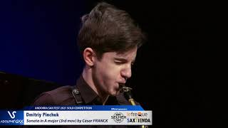Dmitriy Pinchuk plays Sonata in A major for Violin and Piano 3rd Mov by César FRANCK