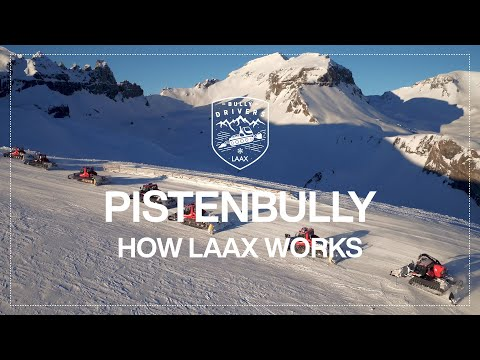 How Laax works - Pistenbully