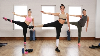 The 40-Minute Boxing and Toning Workout Victoria's Secret Models Love | Class FitSugar by POPSUGAR Fitness