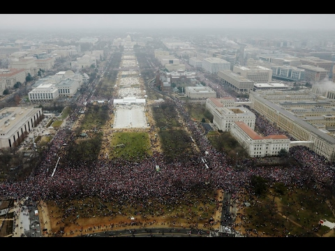 World marches to support women's rights