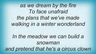 Andy Williams - Winter Wonderland Lyrics