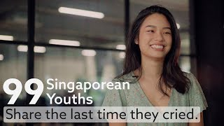 99 Singaporean Youths Share The Last Time They Cried