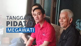 Gibran Tanggapi Pidato Megawati yang Singgung Soal Dinasti Politik: Saya Nggak Dipaksa