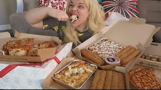 Pizza Hut MUKBANG (Eating Show) | WATCH ME EAT