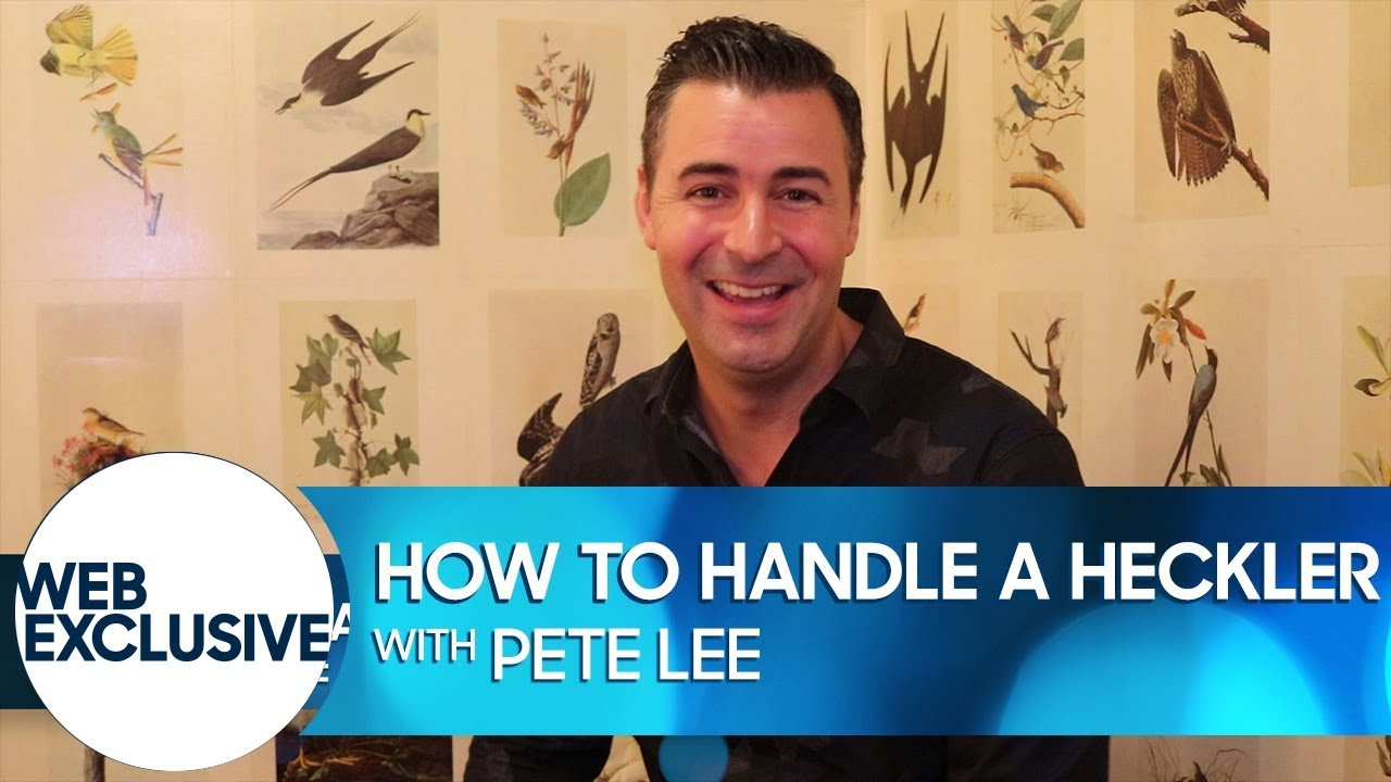 How to Handle a Heckler: Pete Lee thumbnail