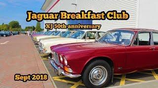 Jaguar Breakfast Club XJ 50th Anniversary - September 2018 - at JLR Classic Works