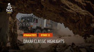 DAKAR2021 - Stage 11 - AlUla / Yanbu - Dakar Classic Highlights